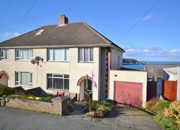 Thumbnail 3 bed semi-detached house for sale in Heol Dewi, Fishguard