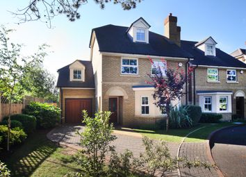 Thumbnail 4 bed detached house to rent in London Road, Englefield Green, Egham