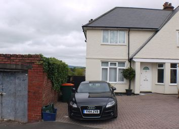 Thumbnail 3 bed semi-detached house for sale in Ronald Road, St Julians, Newport