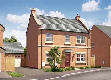 Thumbnail 4 bed detached house for sale in The Barnsbury, Burton Road Tutbury, Staffordshire