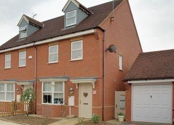 Thumbnail 3 bed semi-detached house for sale in Brindles Close, Calvert, Buckingham