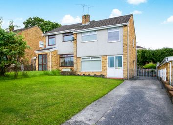 Thumbnail 3 bed semi-detached house for sale in Chiswick Close, Cefn Glas, Bridgend