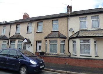 Thumbnail 3 bedroom terraced house for sale in Wednesbury Street, Newport