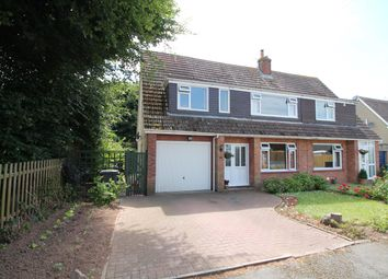 Thumbnail 4 bed semi-detached house for sale in Highfield Drive, Portishead, North Somerset