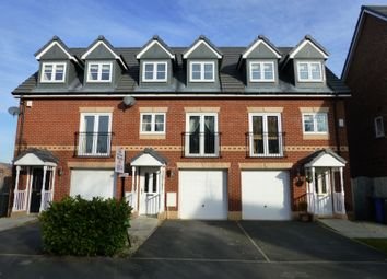 Thumbnail 3 bed town house to rent in Lawnhurst Avenue, Brooklands, Manchester