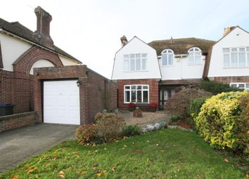 Thumbnail 3 bed semi-detached house for sale in Highfield Close, Blean, Canterbury