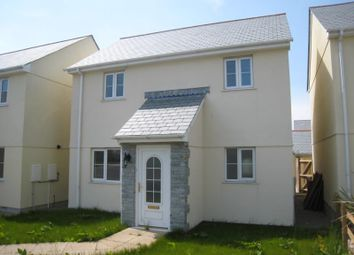 Thumbnail 4 bed detached house to rent in Manhattan Court, Kelly Bray, Callington, Cornwall