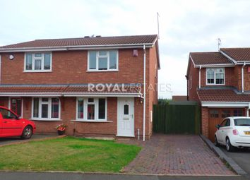 Thumbnail 2 bedroom semi-detached house to rent in Bordeaux Close, Milking Bank, Dudley
