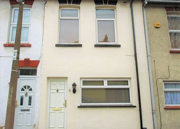 Thumbnail 3 bedroom terraced house for sale in Seymour Road, Chatham, Kent