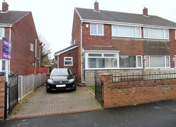 Thumbnail 3 bed semi-detached house for sale in Montgomery Close, Whiston, Prescot