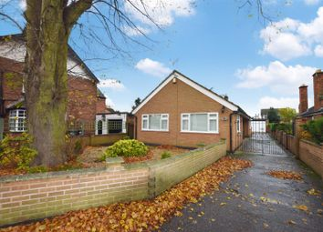 Thumbnail 3 bed detached bungalow for sale in Barkby Road, Queniborough, Leicester