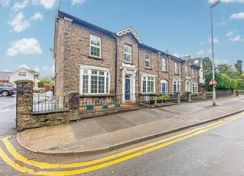 Thumbnail 4 bed end terrace house for sale in Brecon Road, Abergavenny