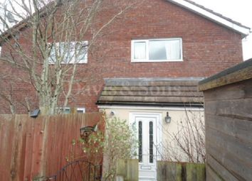 Thumbnail 1 bed end terrace house to rent in Pentre Close, Coed Eva, Cwmbran, Torfaen.