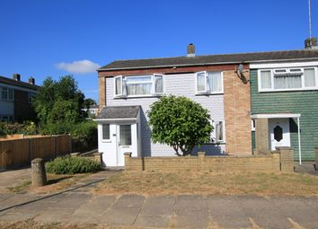 Thumbnail 3 bed end terrace house for sale in Verity Way, Stevenage, Hertfordshire