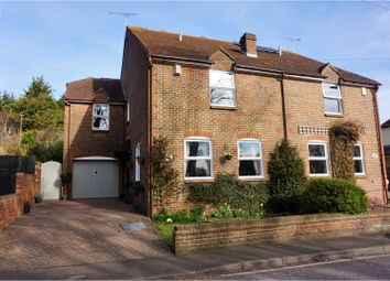 Thumbnail 4 bed semi-detached house for sale in Chestnut Street, Sittingbourne