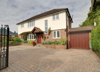 Thumbnail 4 bed detached house for sale in Hillcrest Avenue, Chertsey, Surrey