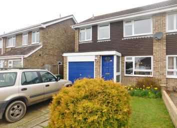 Thumbnail 3 bed semi-detached house for sale in Hornbeam Road, Denvilles, Havant