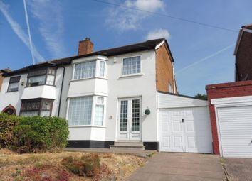 Thumbnail 3 bed property to rent in Moat Lane, Yardley, Birmingham