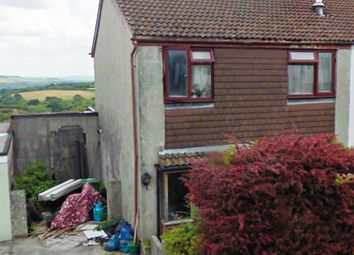 Thumbnail 3 bedroom semi-detached house for sale in Pentrevah Road, Penwithick, St. Austell, Cornwall