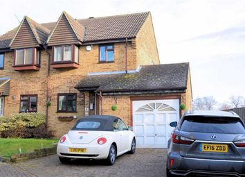 Thumbnail 3 bed semi-detached house for sale in Slade End, Theydon Bois, Epping