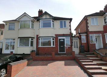 Thumbnail 3 bed semi-detached house for sale in Hawkhurst Road, Maypole, Birmingham