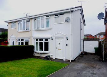 Thumbnail 3 bed semi-detached house for sale in Mallard Way, Darnhall, Winsford