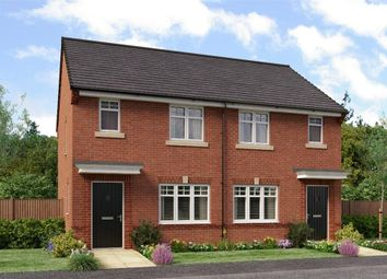 "Thumbnail 2 bed semi-detached house for sale in ""The Yare"" at Former Sunderland College, Shiney Row"