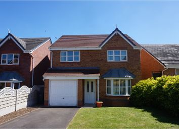 Thumbnail 4 bed detached house for sale in Cae Onan, Oswestry
