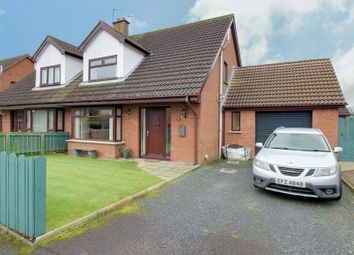 Thumbnail 3 bed semi-detached house for sale in 4 Manse Court, Carrowdore, Newtownards
