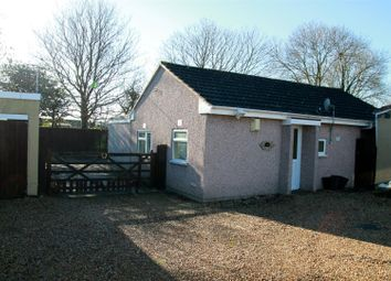 Thumbnail 2 bed detached bungalow for sale in Paddock Park Homes, New Bristol Road, Weston-Super-Mare