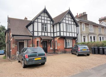 Thumbnail 3 bed maisonette for sale in Old Road East, Gravesend