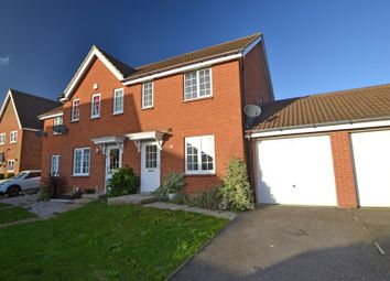 Thumbnail 3 bed terraced house to rent in Charlock Drive, Minster On Sea, Sheerness