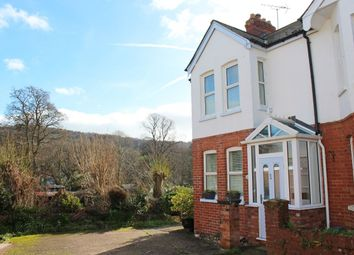 Thumbnail 3 bed terraced house for sale in Lymebourne Avenue, Sidmouth