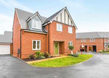 Thumbnail 4 bedroom detached house for sale in Volans Drive, Westbrook, Warrington, Cheshire