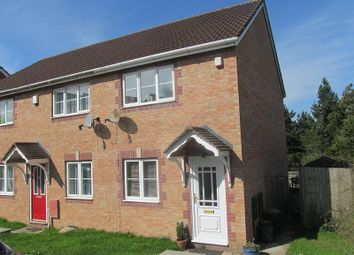 Thumbnail 2 bed end terrace house to rent in Cwrt Hocys, Llansamlet, Swansea, City And County Of Swansea.