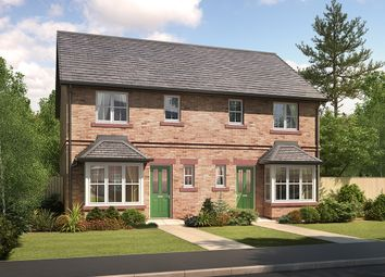 "Thumbnail 3 bedroom semi-detached house for sale in ""Kingston"" at Ascot Way, Carlisle"