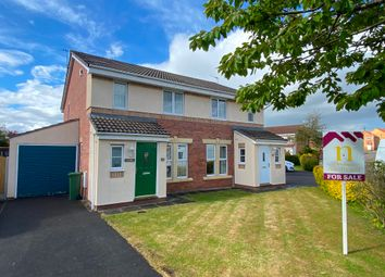 Thumbnail 4 bed semi-detached house for sale in Moorside Drive, Harraby, Carlisle