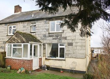 Thumbnail 2 bed semi-detached house to rent in Lewannick, Launceston