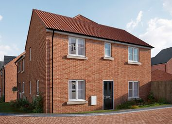 "Thumbnail 3 bed semi-detached house for sale in ""The Mountford"" at Carlisle Way, Bracebridge Heath, Lincoln"