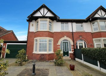 Thumbnail 3 bed semi-detached house for sale in Chester Avennue, Thornton-Cleveleys