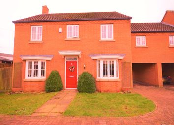 Thumbnail 5 bed detached house for sale in Cross Keys Drive, Thrapston, Kettering