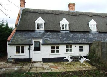 Thumbnail 2 bedroom end terrace house for sale in Weeting, Brandon, Norfolk