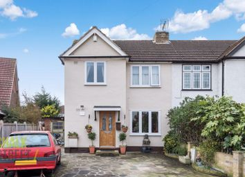 Thumbnail 4 bed semi-detached house for sale in Burnway, Hornchurch