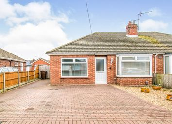 Thumbnail 3 bedroom semi-detached bungalow for sale in Cannerby Lane, Sprowston, Norwich
