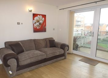 Thumbnail 2 bed flat to rent in Penstone Court, Century Wharf, Cardiff Bay