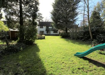 Thumbnail 4 bed detached house for sale in Heatherdale Road, Camberley