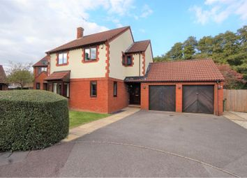 Thumbnail 4 bed detached house for sale in Keepers Close, Eastleigh