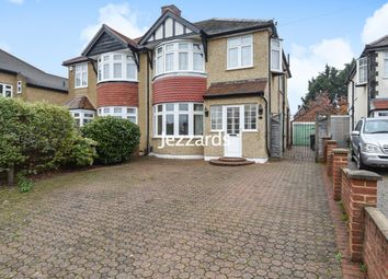 Thumbnail 3 bed semi-detached house for sale in Warren Drive South, Surbiton