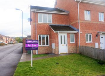 Thumbnail 2 bed end terrace house for sale in Half Acre Court, Caerphilly