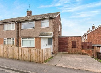 Thumbnail 3 bed semi-detached house to rent in Sleights Crescent, Eston, Middlesbrough